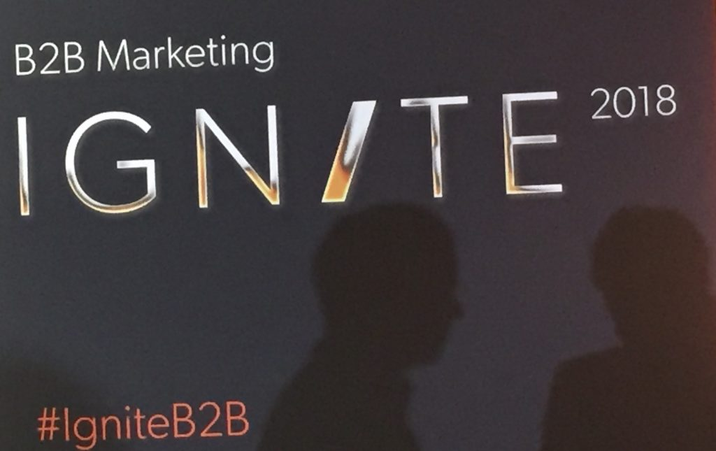 Ignite B2B 2018 Marketing Quotes