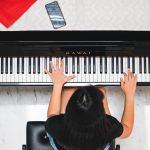 Practise at piano BrandSymphonyMarketing
