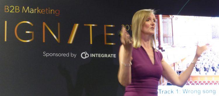 Ignite B2B speaker Jill Pringle brand symphony