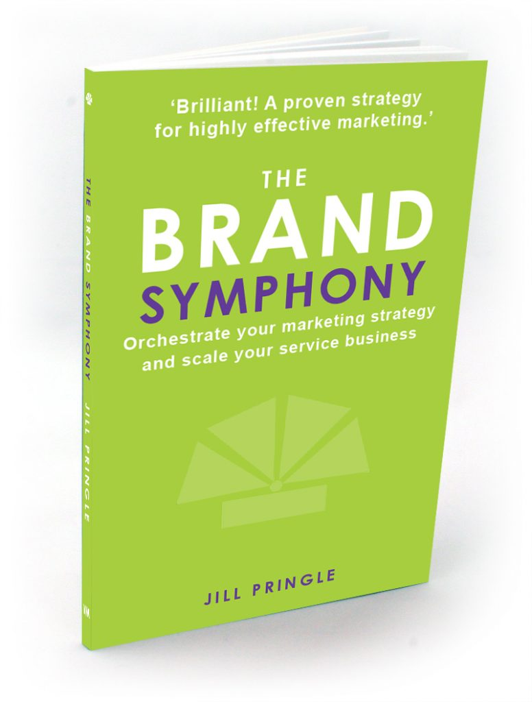 The Brand Symphony Book by Jill Pringle 3D