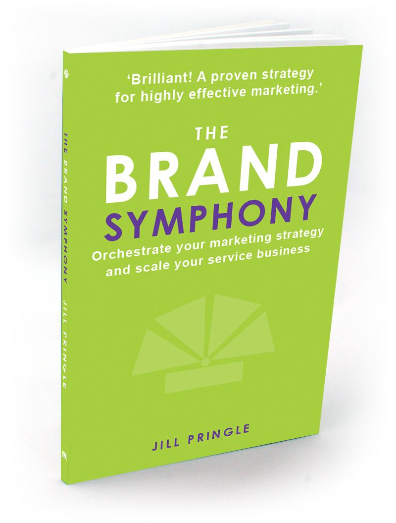 The Brand Symphony Book by Jill Pringle 3D