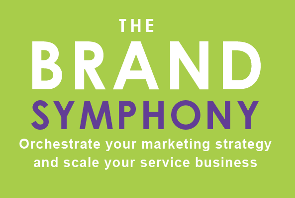 The Brand Symphony by Jill Pringle book Cover