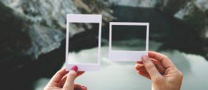 reframing two frames over same image