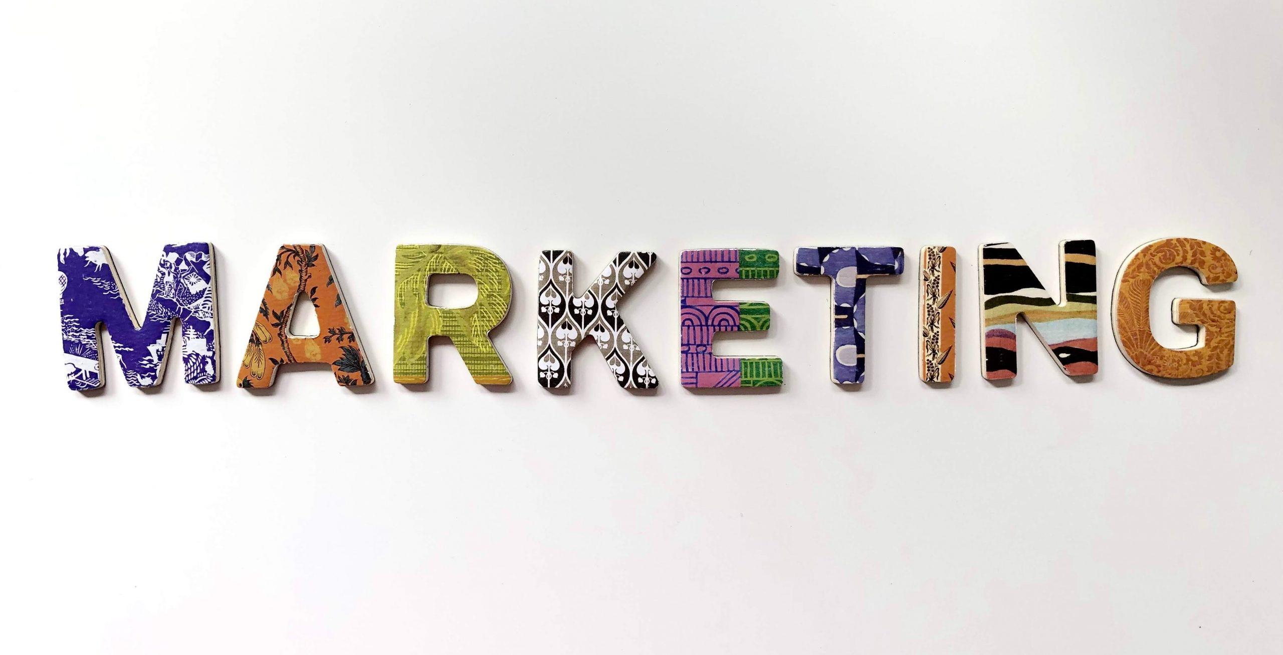 marketing plan in letters
